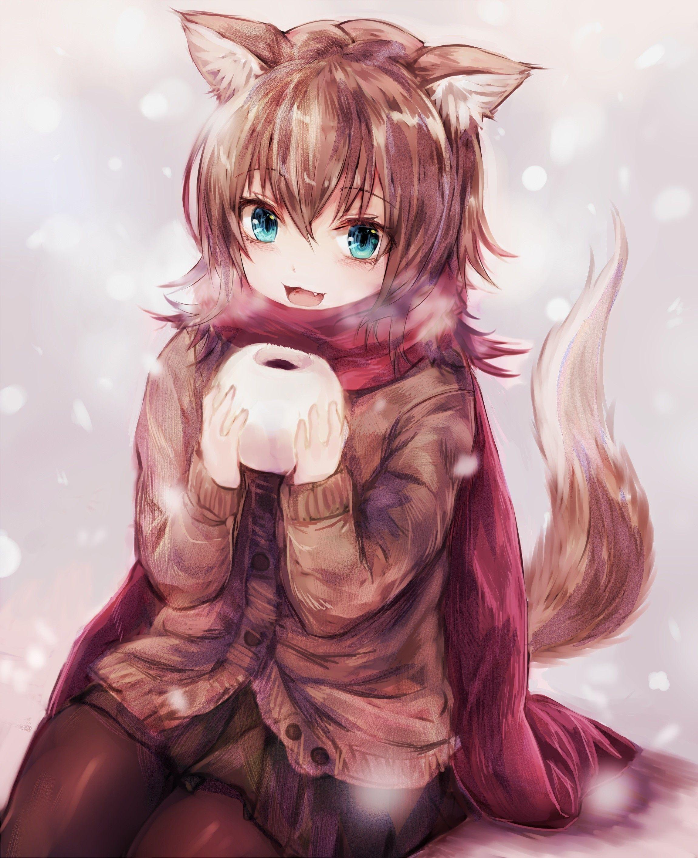 Anime Fox Girl Wallpaper : anime, wallpaper, Anime, Wallpapers, Wallpaper