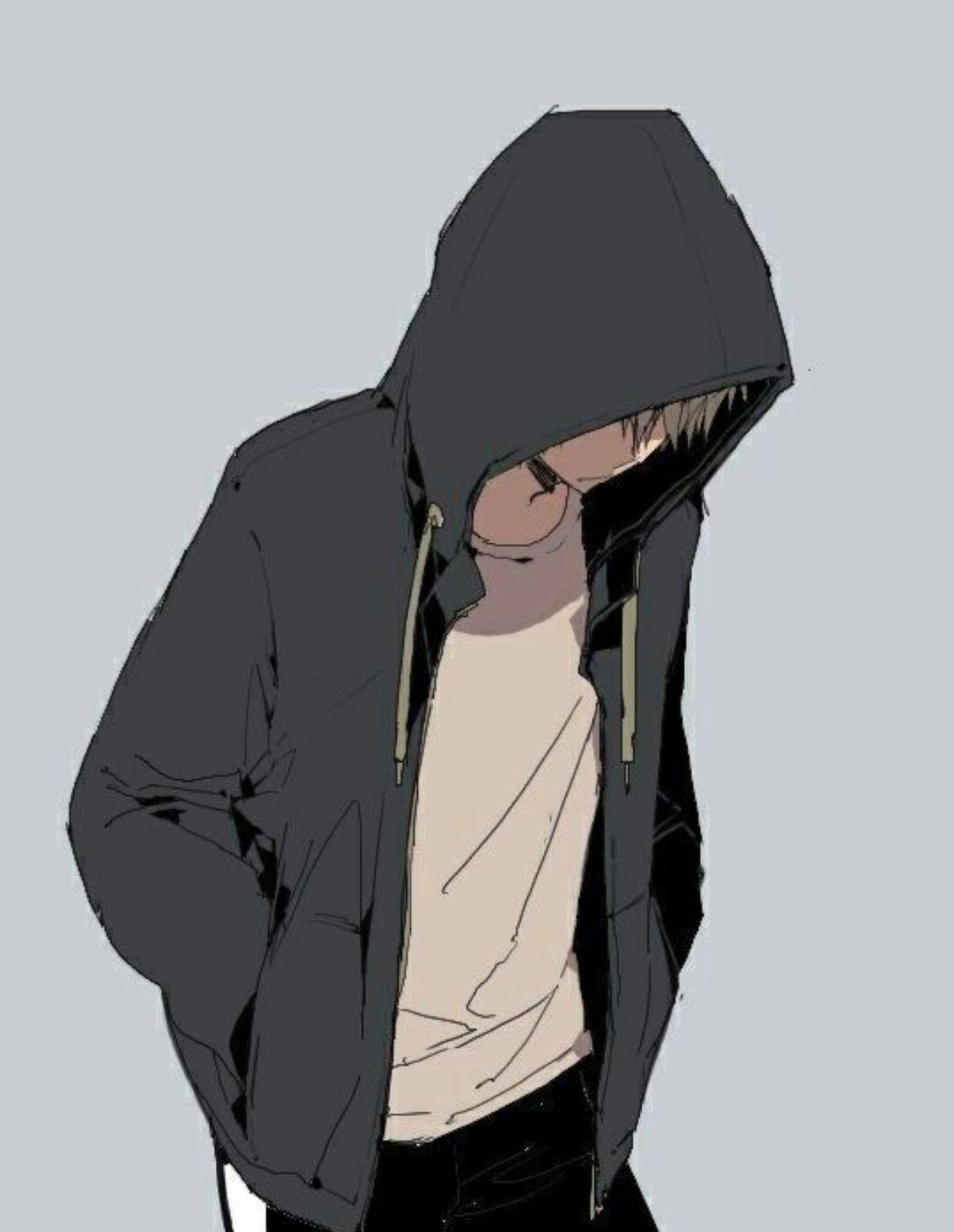 Hoodie Cute Gamer Anime Boy : hoodie, gamer, anime, Hooded, Anime, Wallpapers, Wallpaper