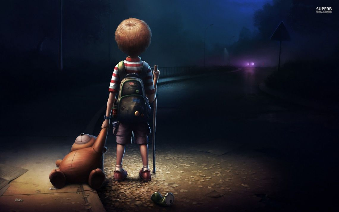 Anime Lonely Boy Wallpapers Wallpaper Cave