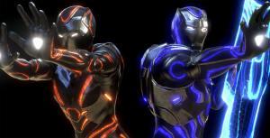 avengers control damage marvel rec iron vr wallpapers stark tony reality studios suit virtual avenger wakanda shuri ferro armadura homem