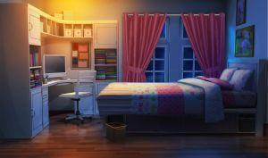 anime bedroom scenery wallpapers