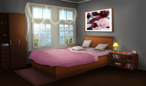 bedroom anime episode bed backgrounds gacha night scenery wallpapers int quarto interactive paint rooms apartment 1136 excellent unduh gratis paintcolor