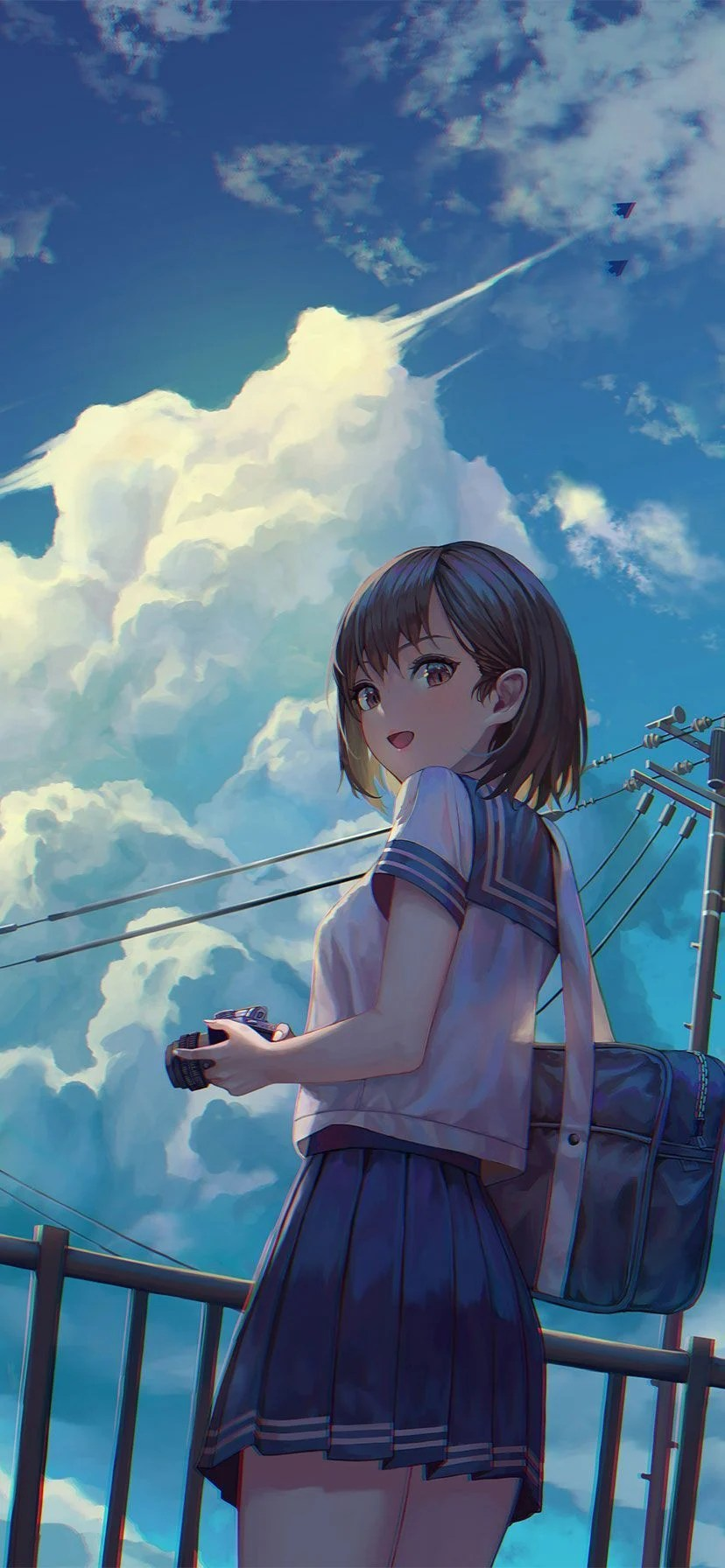 Iphone Xr Anime Wallpaper : iphone, anime, wallpaper, IPhone, Anime, Wallpapers, Wallpaper