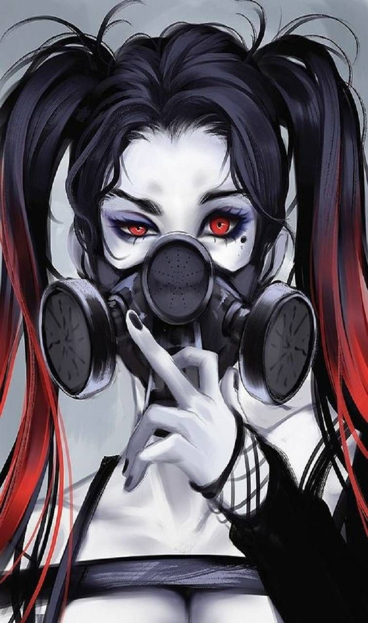 Anime Girl With Gas Mask : anime, Female, Anime, Wallpapers, Wallpaper