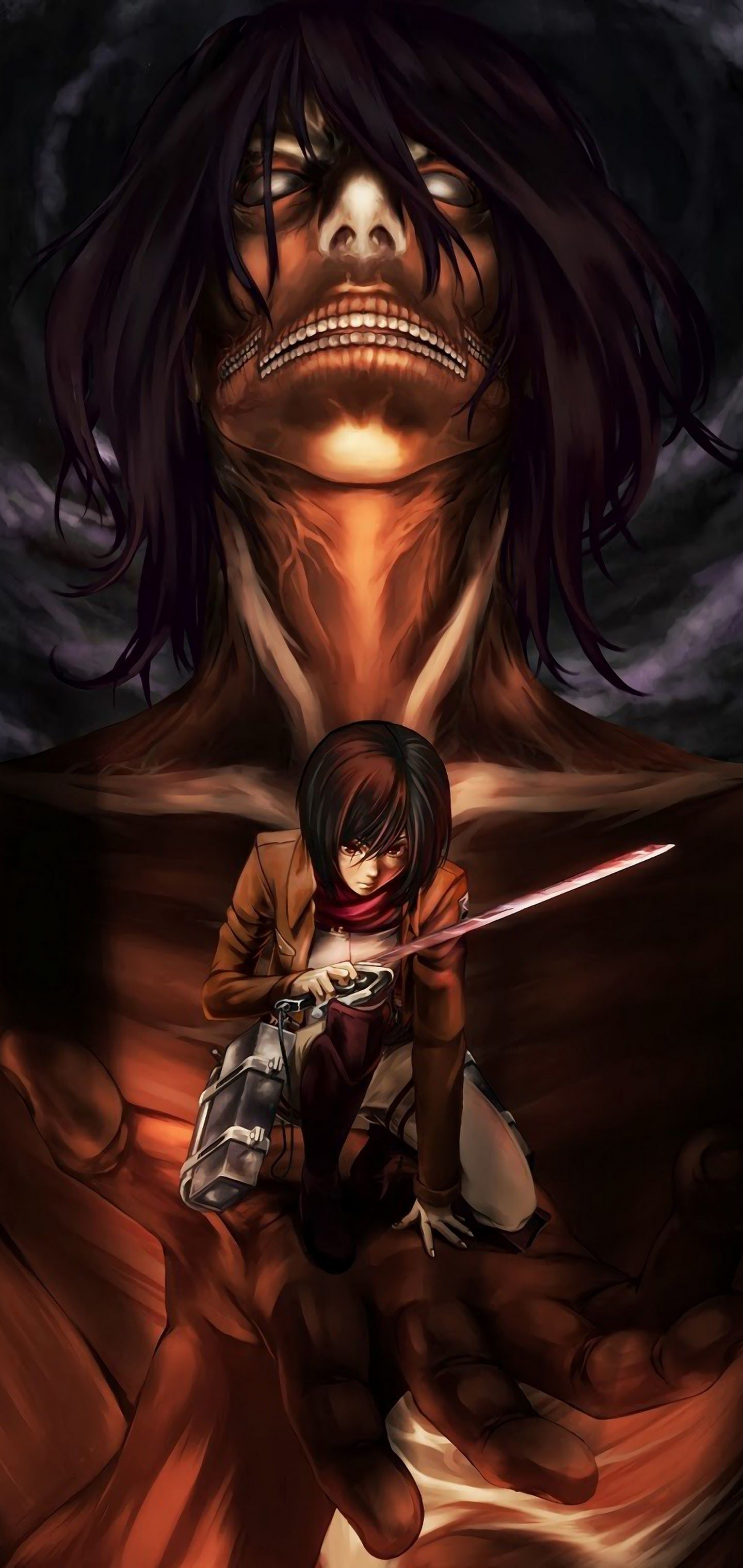 Download attack on titan 2 for windows & read reviews. Attack On Titan Smartphone Wallpapers - Wallpaper Cave