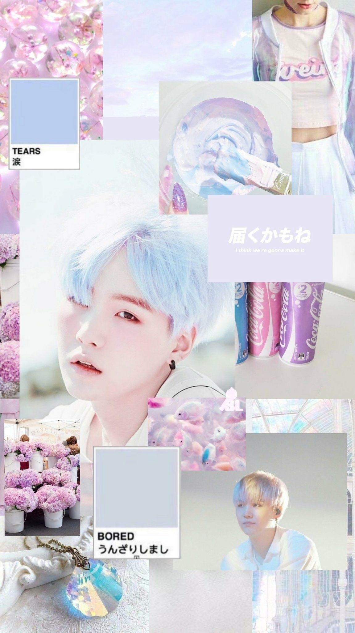 Download your chosen mclaren wallpaper below. Taeyoongi BTS Aesthetic Collage Wallpapers - Wallpaper Cave