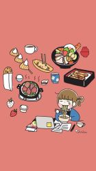aesthetic anime food wallpapers