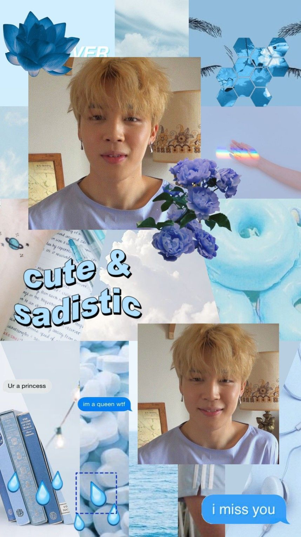 BTS Jimin Aesthetic Wallpapers - Wallpaper Cave