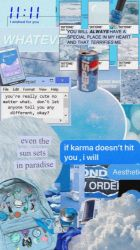 aesthetic wallpapers iphone water pastel phone sad backgrounds quotes bottled instagram cute lockscreen cave