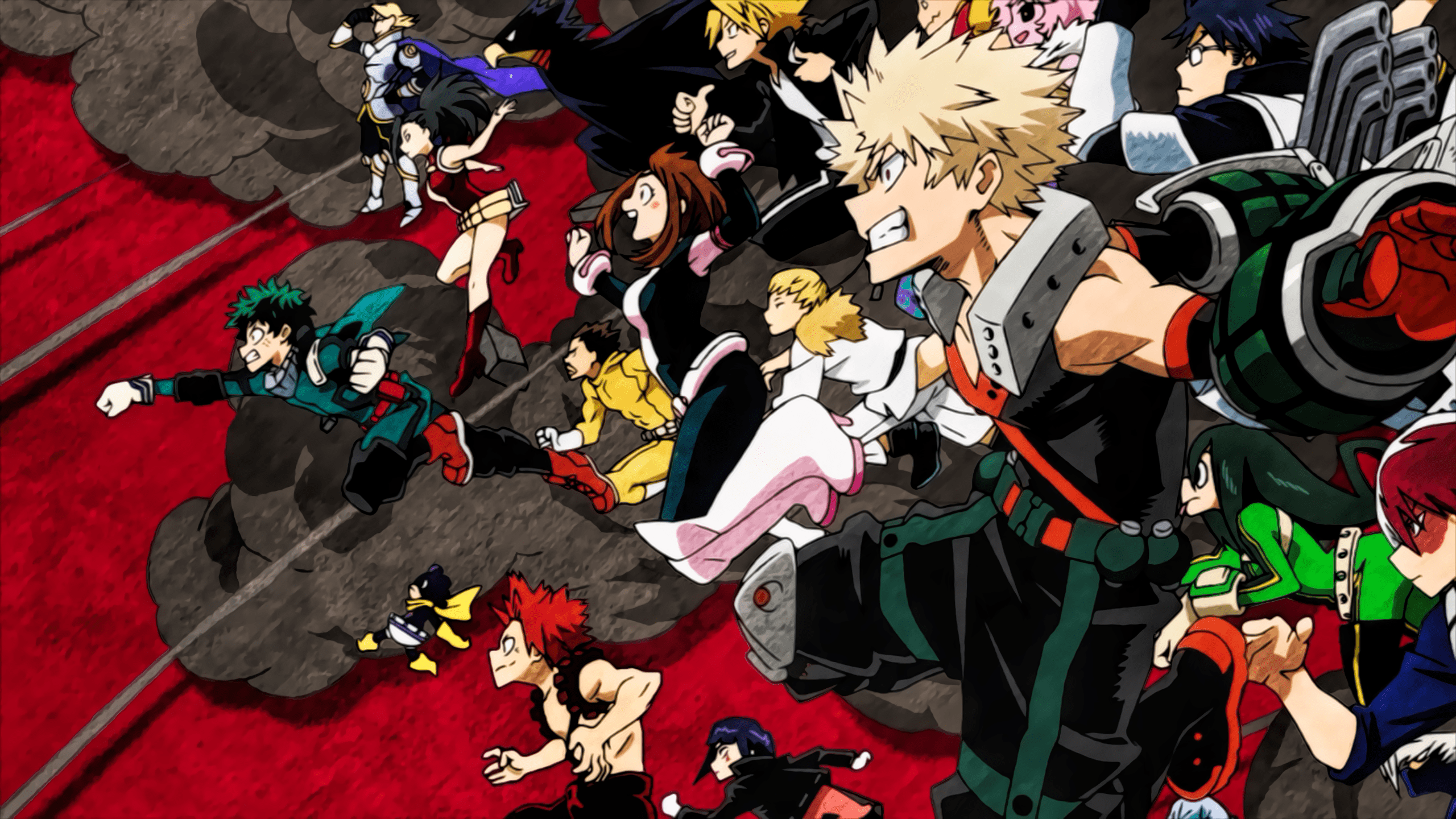 You can also upload and share your favorite boku no hero academia wallpapers. My Hero Academia Poster Desktop Wallpapers - Wallpaper Cave