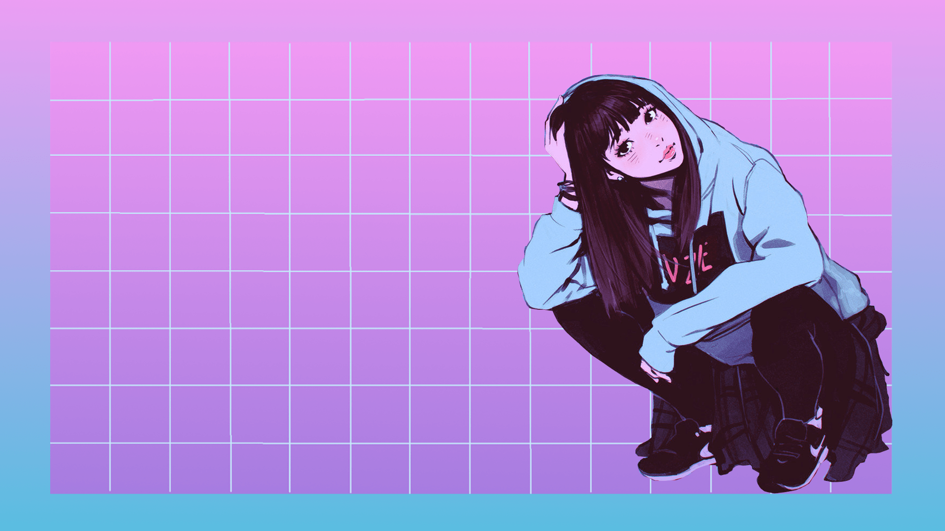Black anime aesthetic wallpaper laptop are a topic that is being searched for and appreciated by netizens these days. Aesthetic HD Laptop Anime Wallpapers - Wallpaper Cave