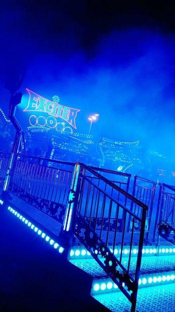 Blue Aesthetic Wallpaper Neon