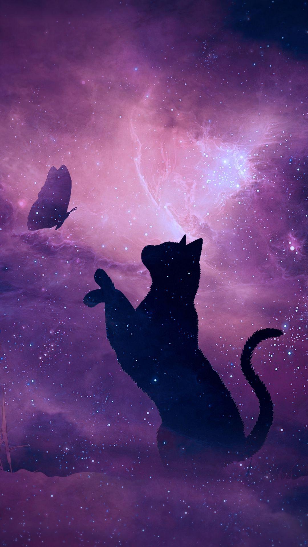 Galaxy Cat Background : galaxy, background, Galaxy, Wallpapers, Wallpaper