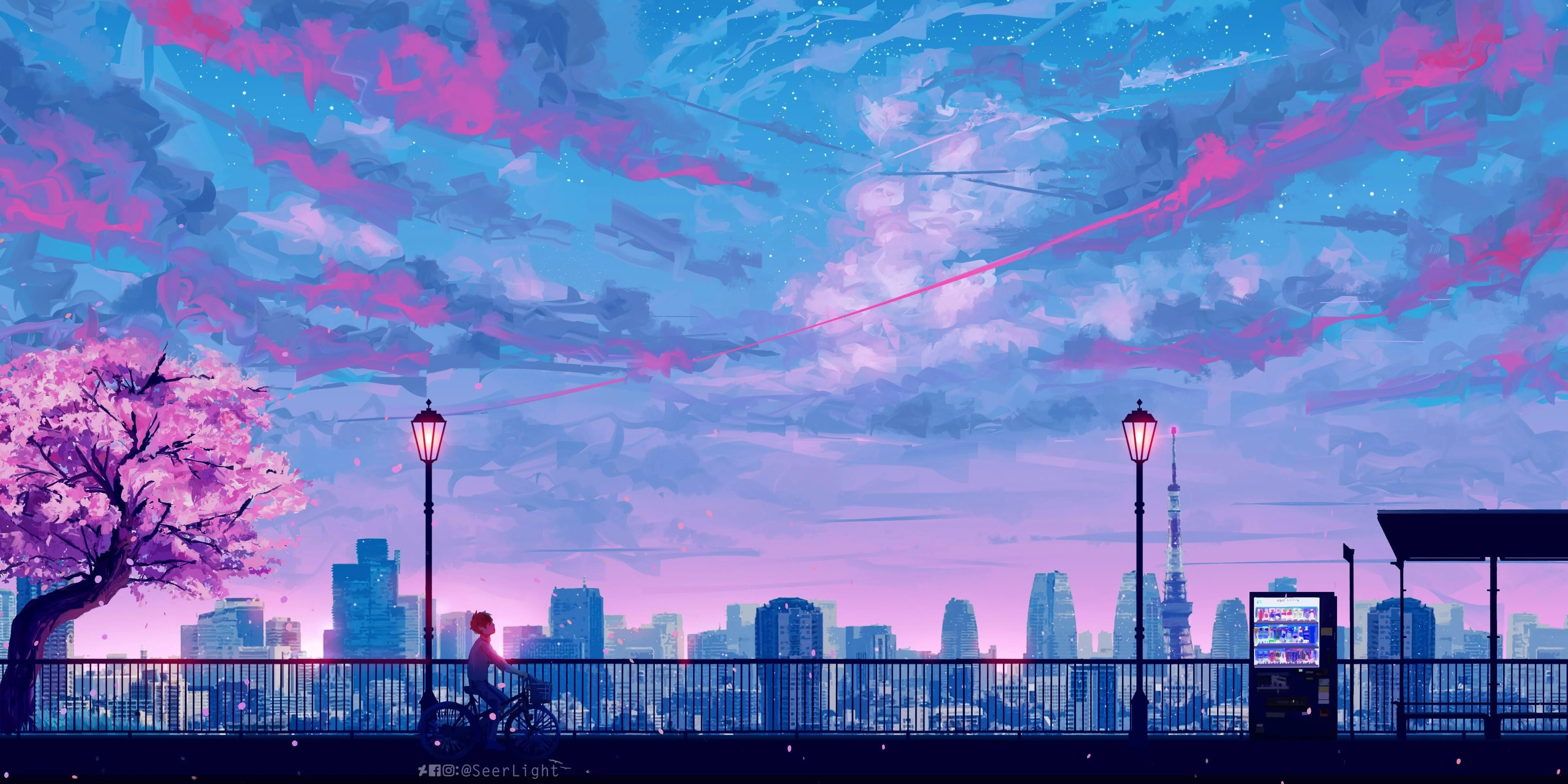 A collection of the top 57 aesthetic anime desktop wallpapers and backgrounds available for download for free. Pink Aesthetic PC Anime Wallpapers - Wallpaper Cave