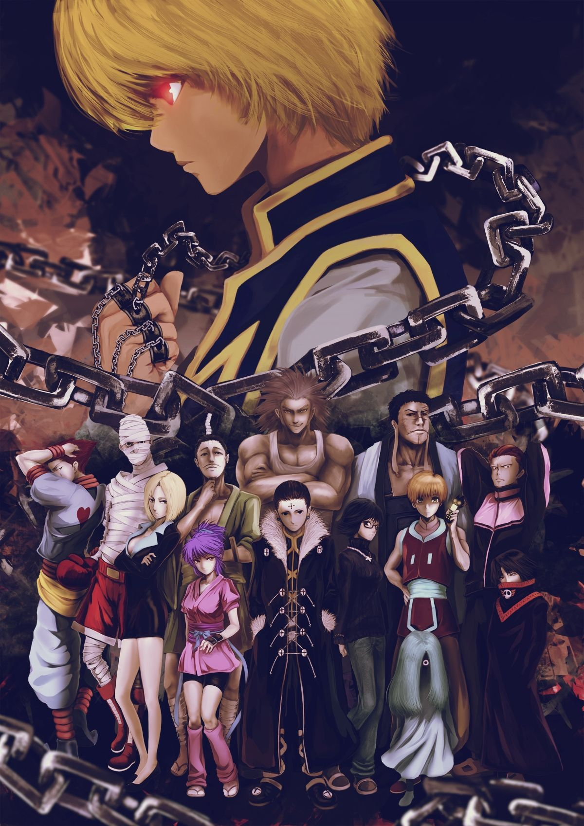 Hunter X Hunter Brigade Fantome : hunter, brigade, fantome, Brigade, Phantom, Phone, Wallpapers, Wallpaper