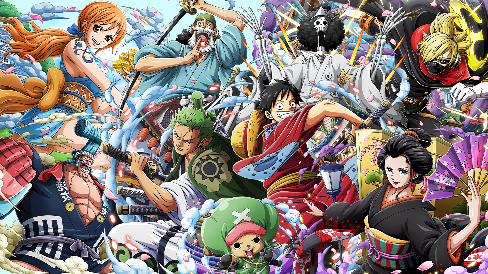Download wallpaper zoro wano hd cikimm com stay tuned to get more information of one piece 411 roronoa zoro hd wallpapers and background. One Piece Wano Wallpapers - Wallpaper Cave