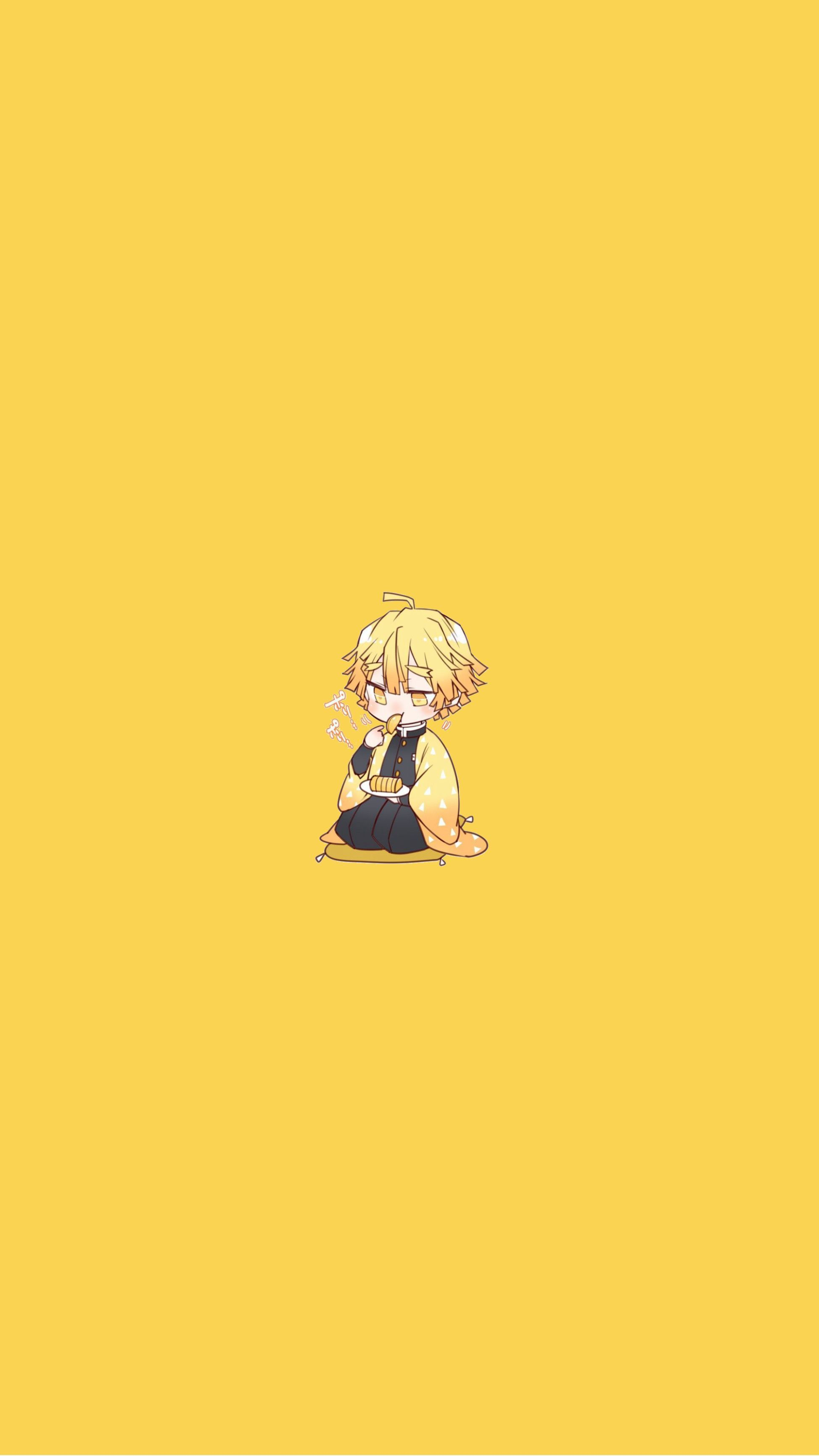 Anime Yellow : anime, yellow, Yellow, Aesthetic, Anime, Wallpapers, Wallpaper