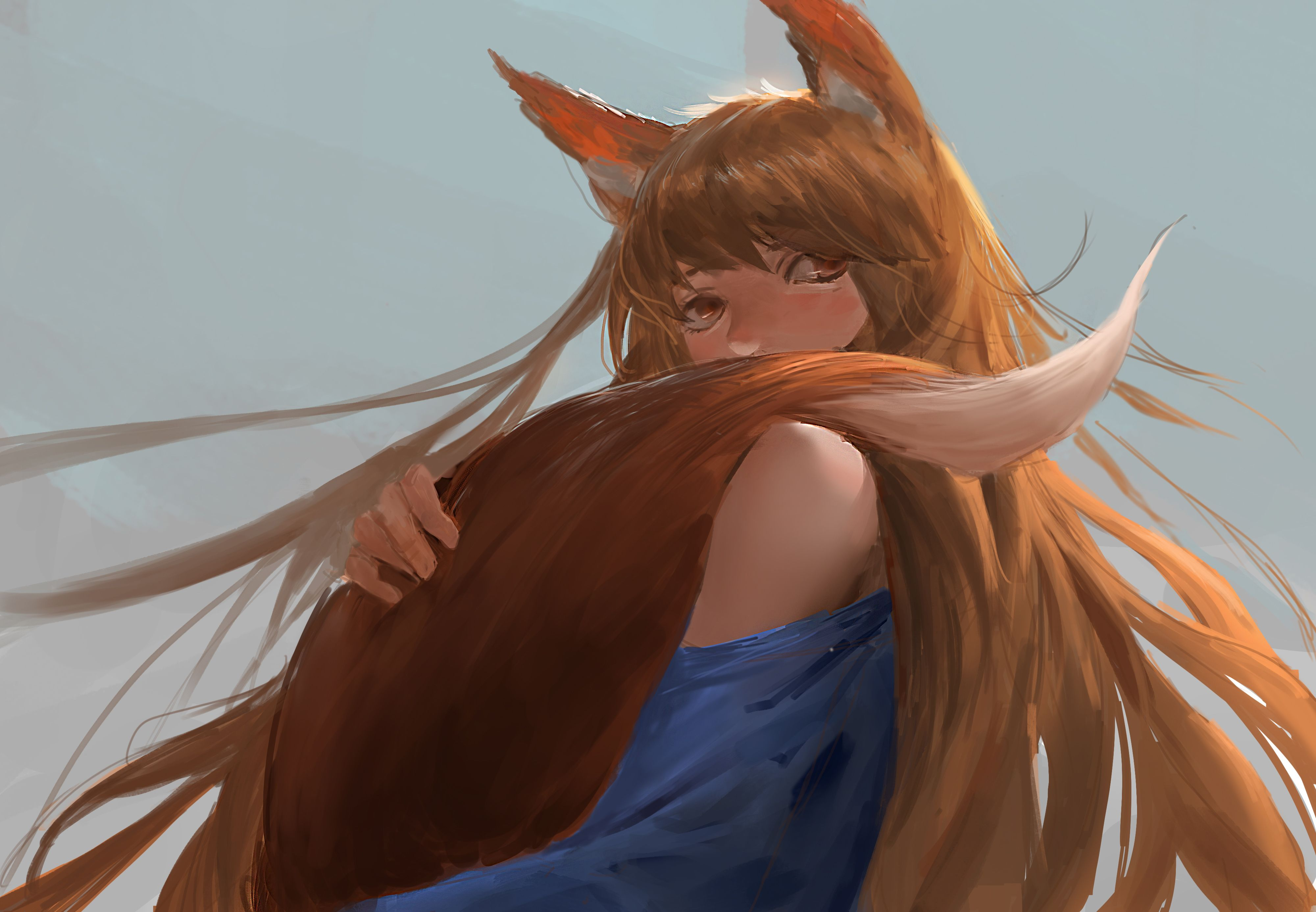 Download anime 4k,uhd wallpapers apk 3.8 for android. 4k Anime Wolf Girl Wallpapers - Wallpaper Cave