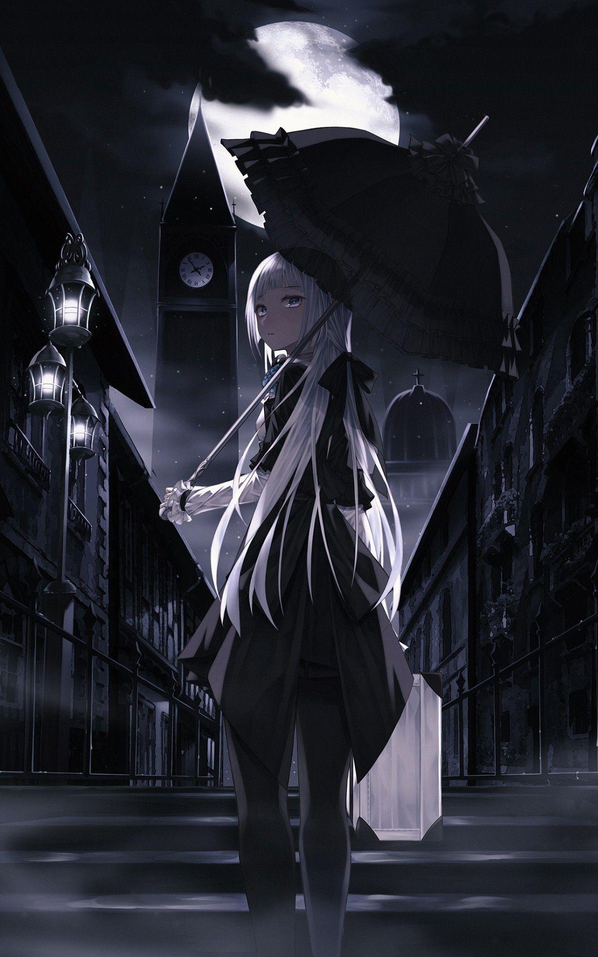 Dark Anime Girl Wallpaper : anime, wallpaper, Anime, Wallpapers, Wallpaper