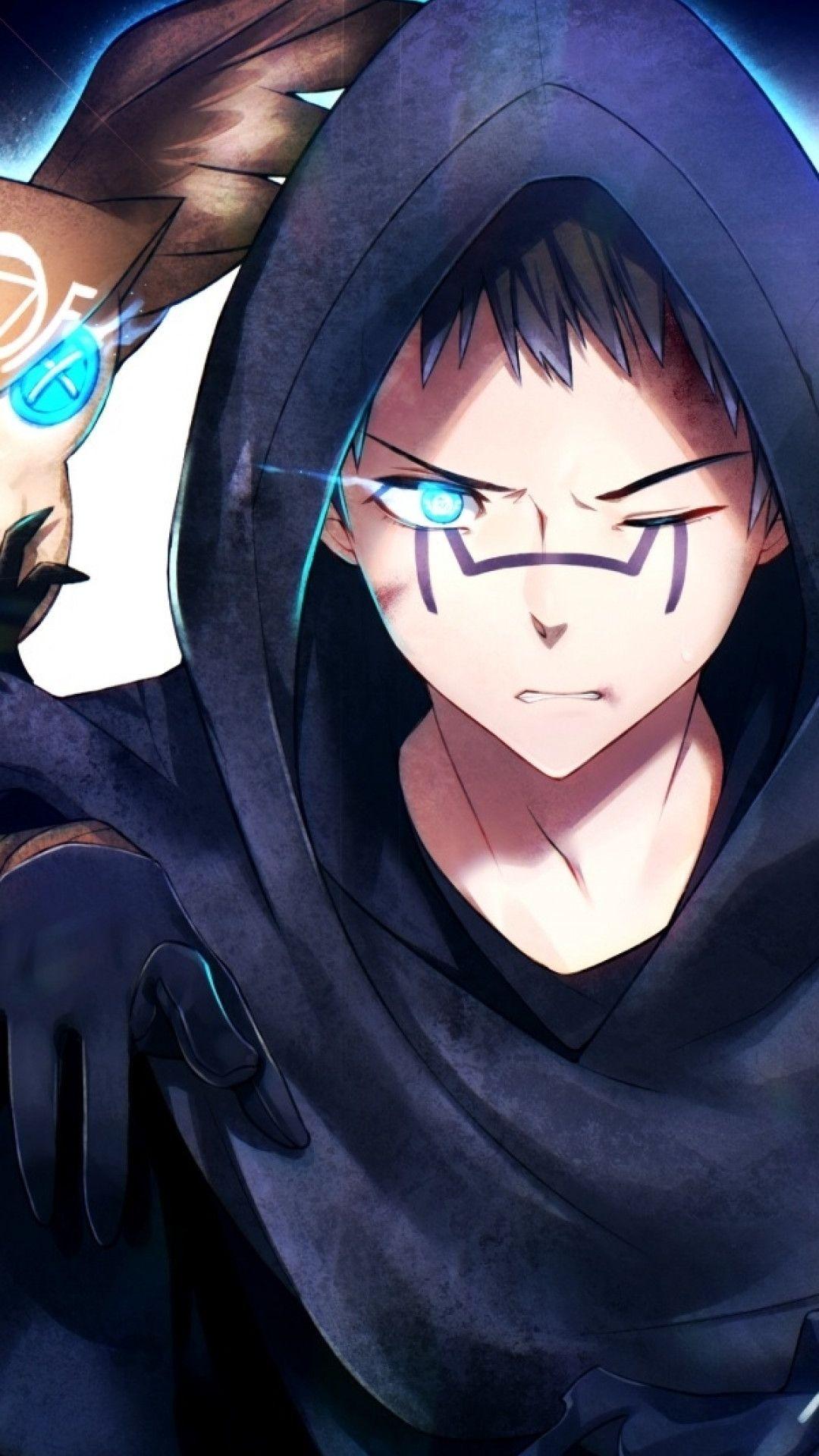 Hoodie Blue Anime Boy : hoodie, anime, Hoodie, Anime, Wallpapers, Wallpaper