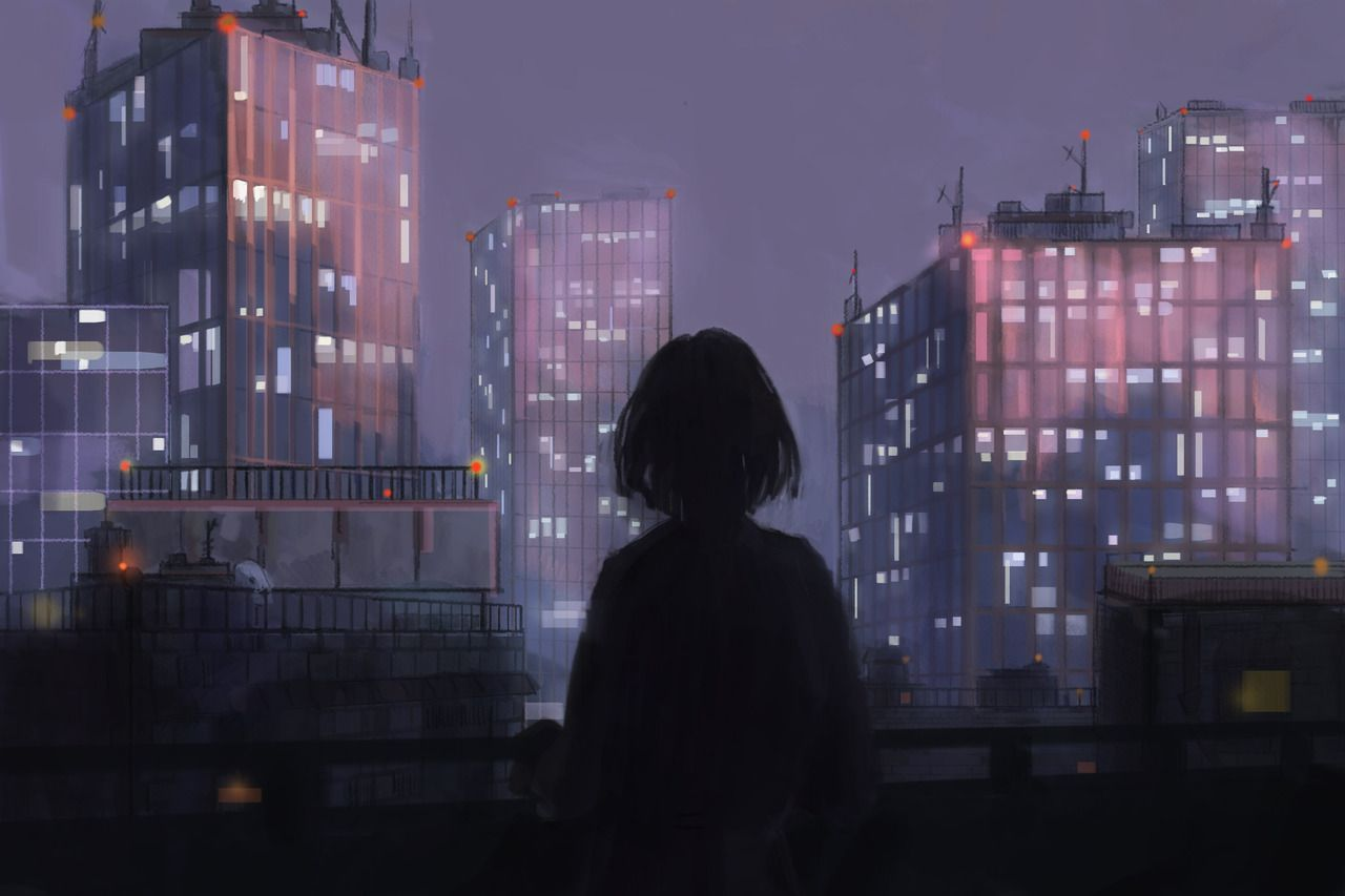 Sad aesthetic wallpaper anime free download wallpaper. Sad Aesthetic Anime PC Wallpapers - Wallpaper Cave