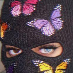 Gangsta Girl Wallpaper Baddie Ski Mask Aesthetic