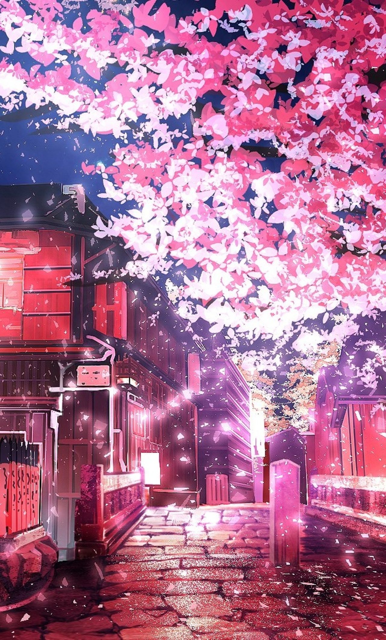 28,220 free wallpaper photos and images. Pink Anime Tree Wallpapers - Wallpaper Cave