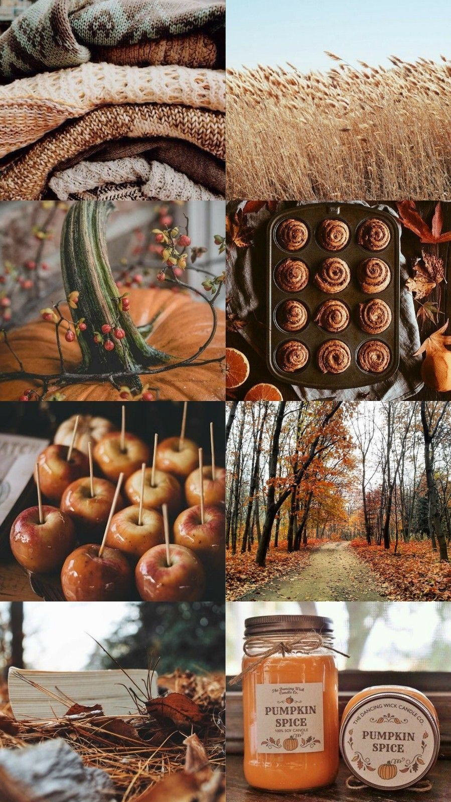Crafting the best instagram aesthetic for your brand can make all the. Fall Collage Wallpapers - Wallpaper Cave