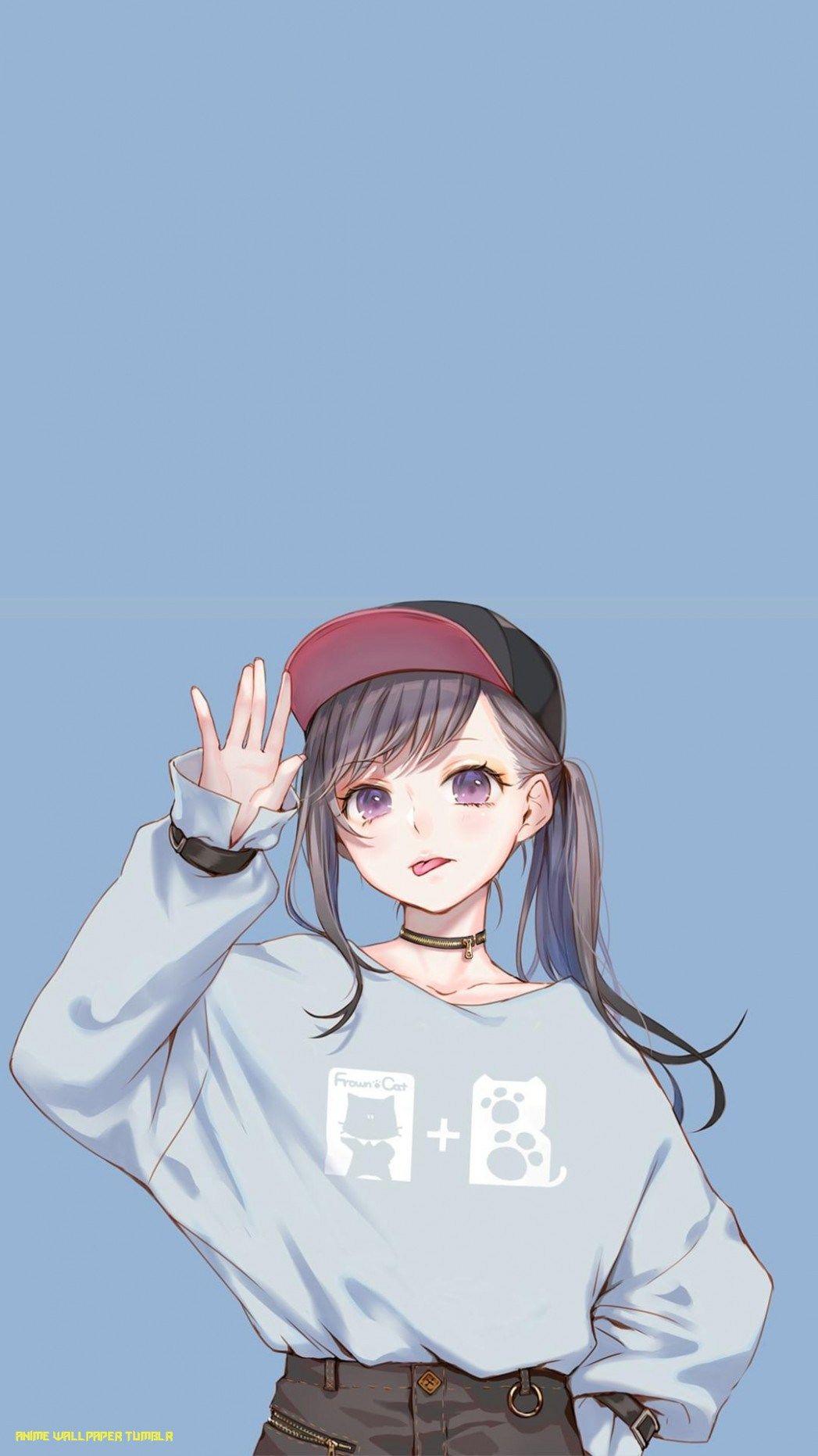 Anime Sad Girl Tumblr : anime, tumblr, Anime, Aesthetic, Wallpaper, Iphone, Tumblr