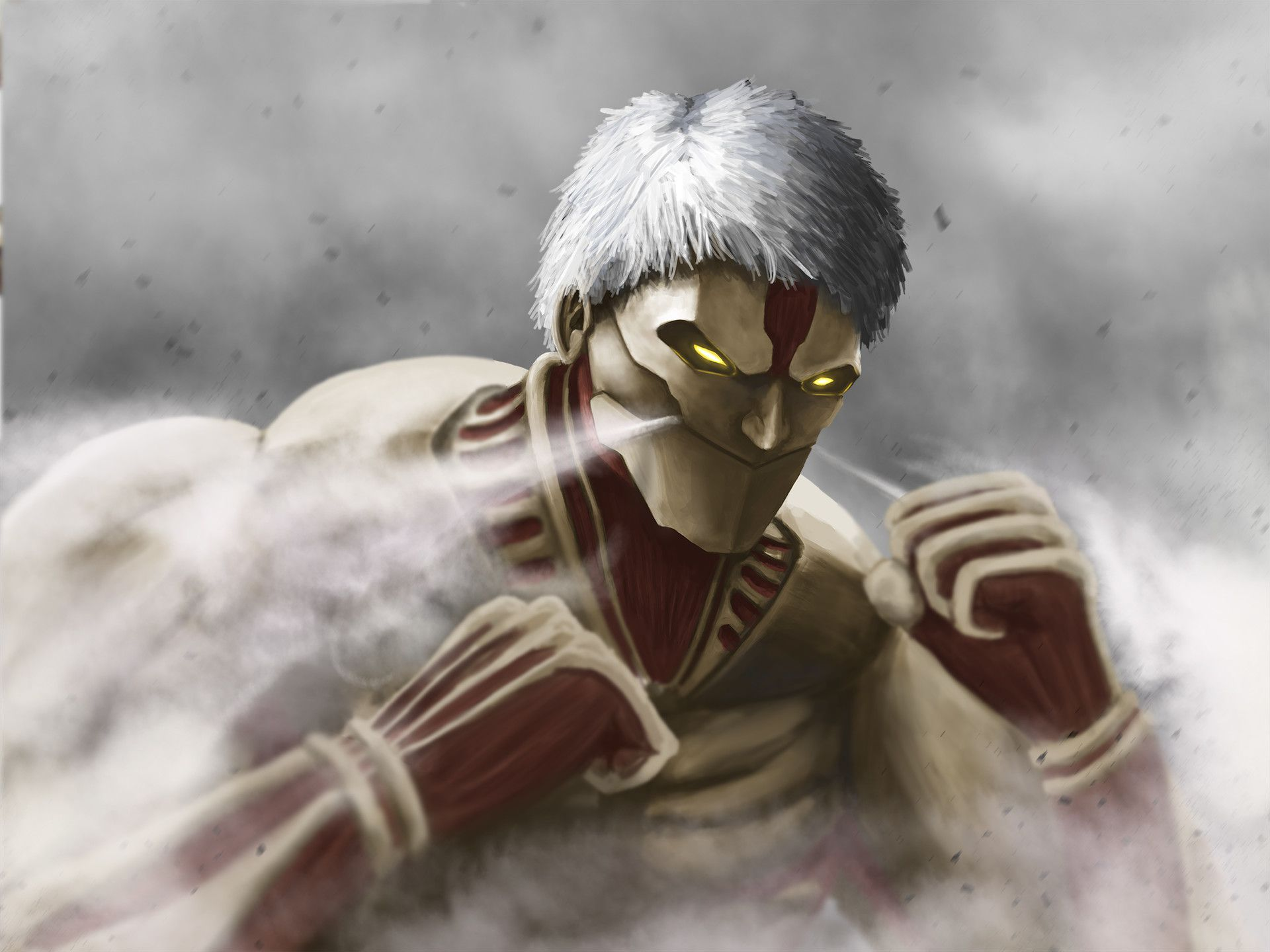 Get ready to defend shiganshina! Armored Titan Wallpapers - Wallpaper Cave