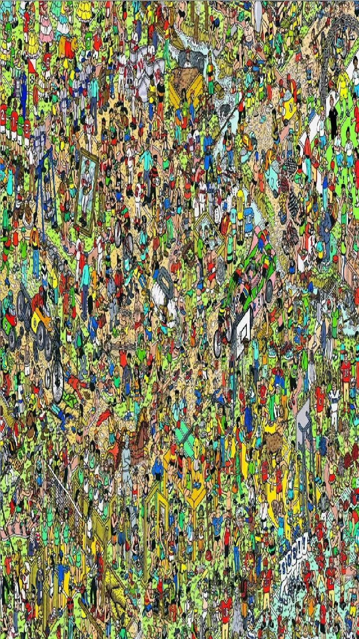 Where's Waldo Pic Without Waldo : where's, waldo, without, Where's, Wally?, Wallpapers, Wallpaper