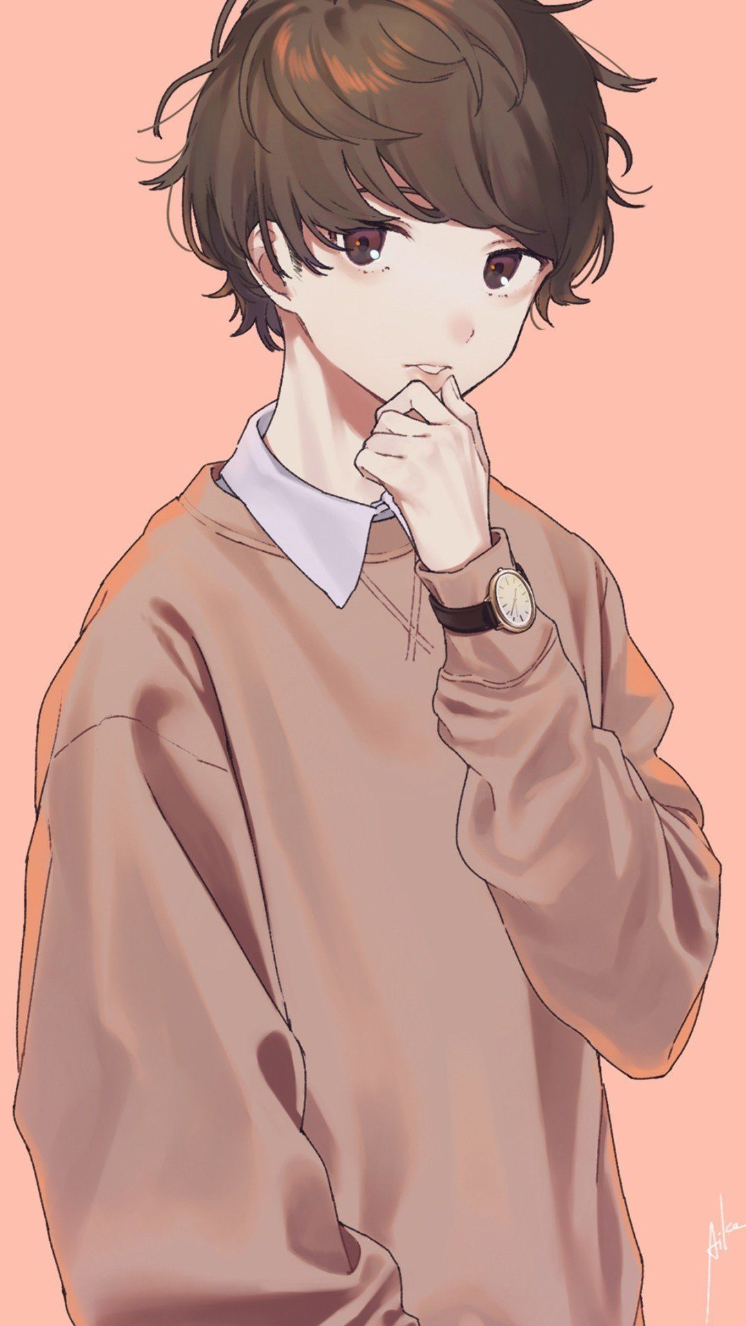 Anime Boy Iphone Wallpapers Wallpaper Cave
