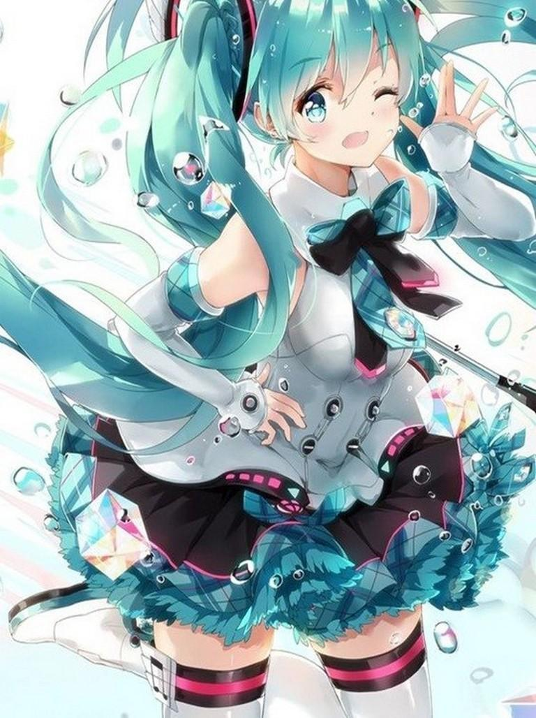 Miku Hatsune Android Wallpapers Wallpaper Cave