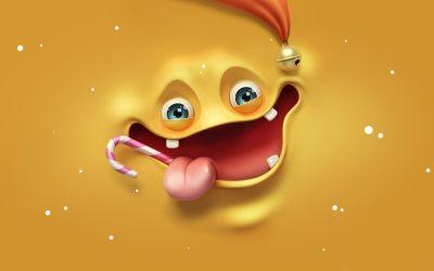 Iphone Cute Monster Wallpaper