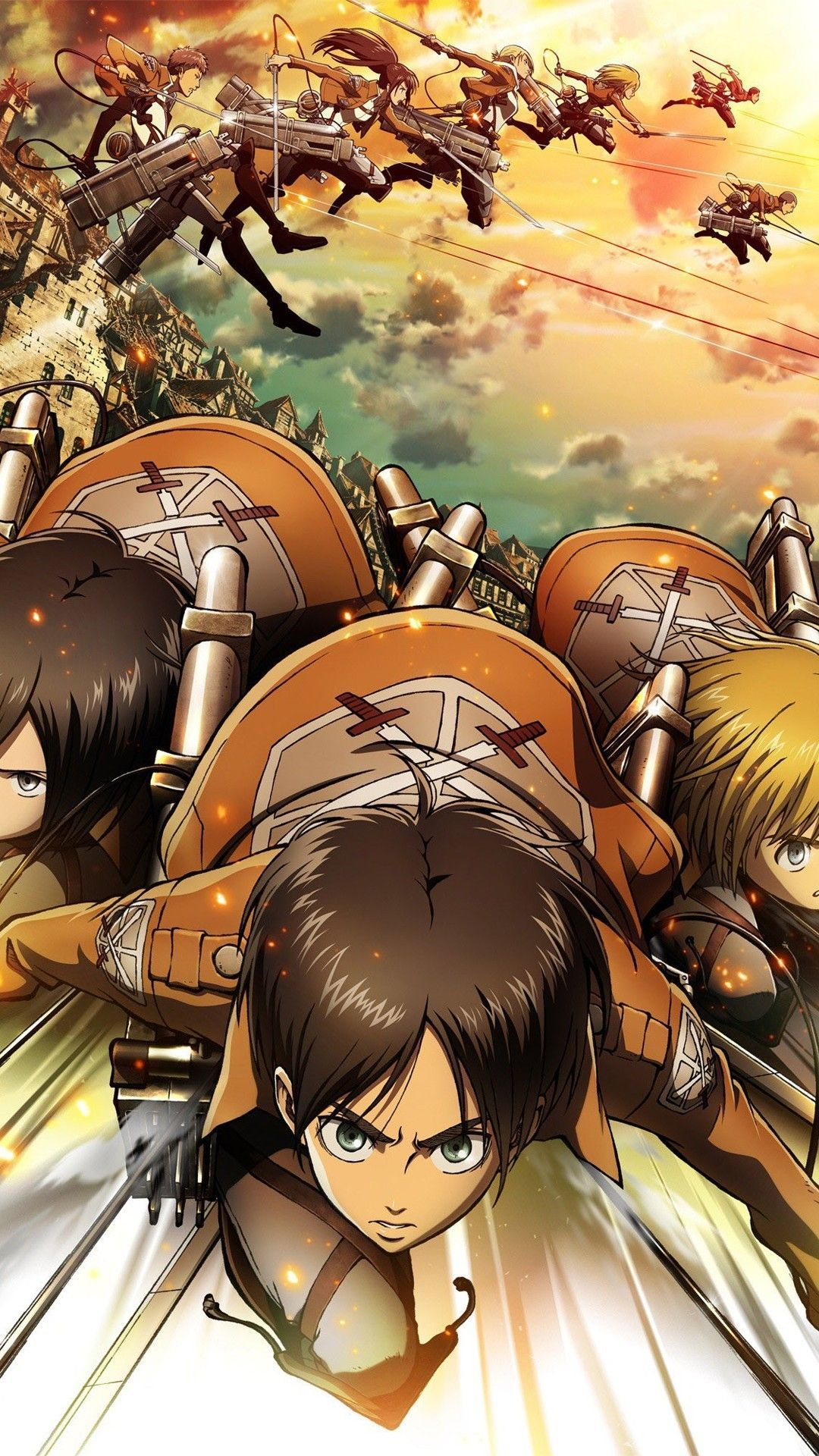 Pixel art brings a world of. Attack On Titan iPhone Wallpapers - Wallpaper Cave