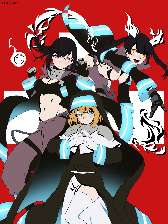 Enen No Shouboutai - Episode 18 Vostfr : shouboutai, episode, vostfr, Tamaki, Force, Screenshots, Anime, Wallpaper