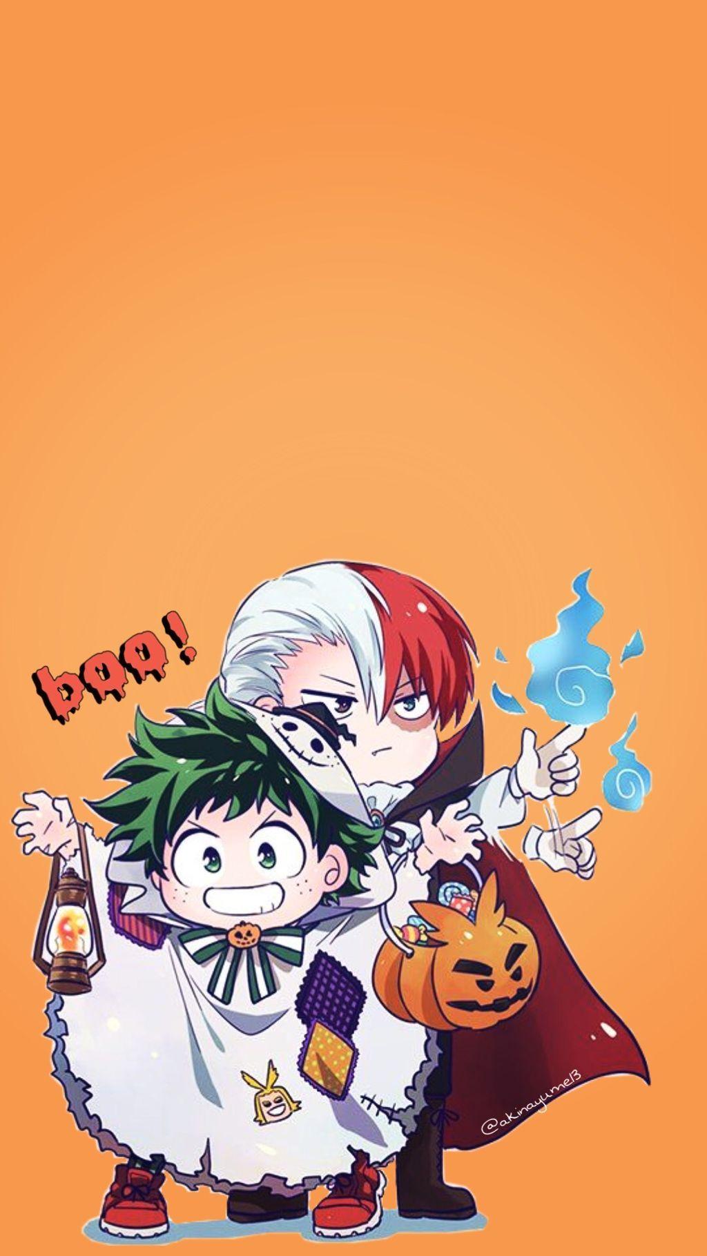 Choose resolution & download this wallpaper. Halloween My Hero Academia Wallpapers - Wallpaper Cave