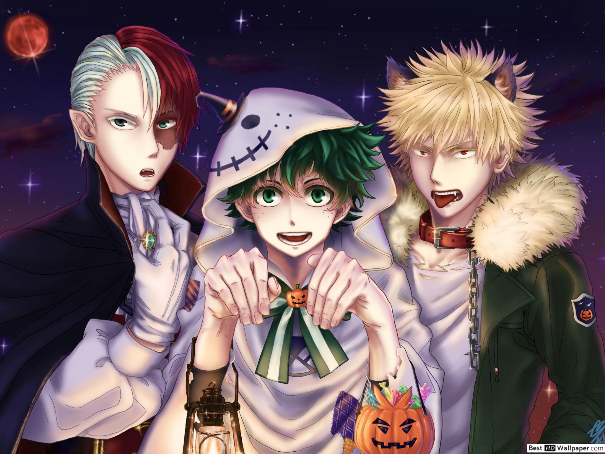 Enjoy boku no hero academia wallpapers in custom new tab themes. Halloween My Hero Academia Wallpapers - Wallpaper Cave