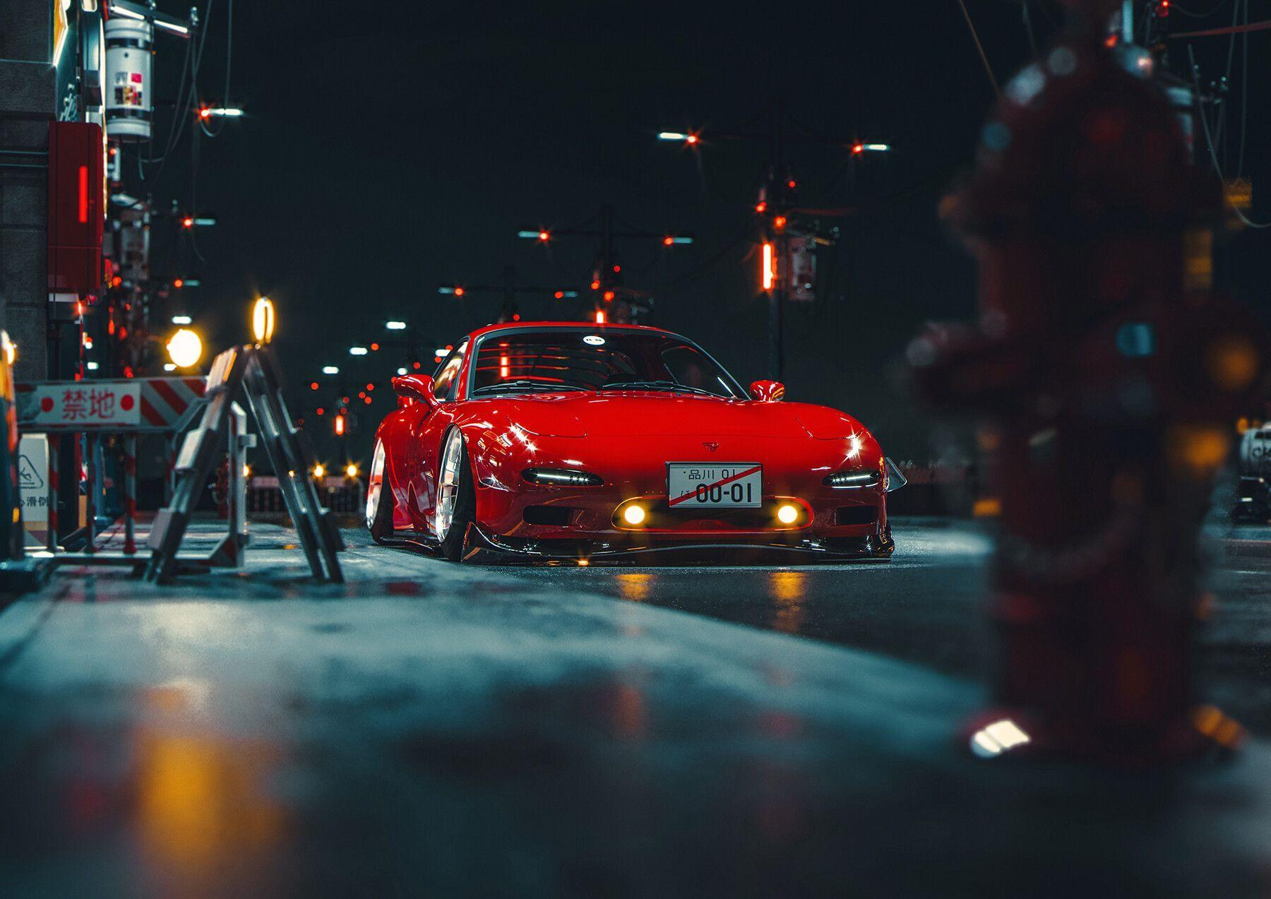 Lamborghini terzo millennio 2020 4k. Red Jdm Wallpapers Wallpaper Cave