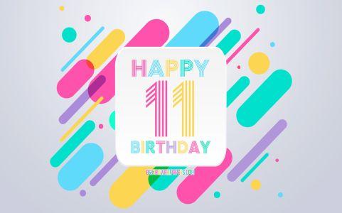 Happy 11th Birthday Images