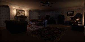 living creepy wallpapers rooms scary