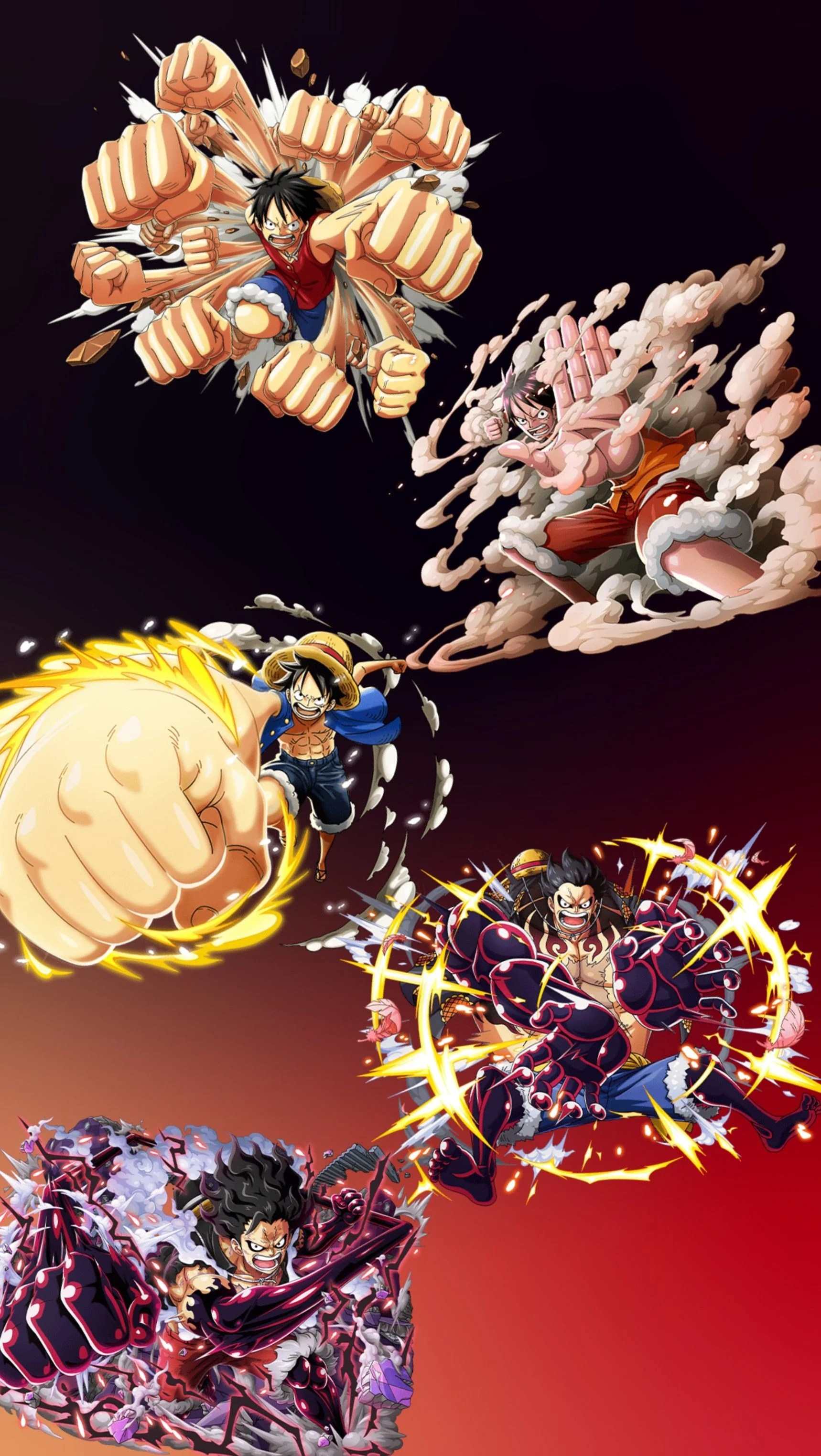 Spoiler terbaru one piece chapter 1025, gear 4 luffy vs kaido dragon form! Luffy Gear 3 Wallpapers Wallpaper Cave