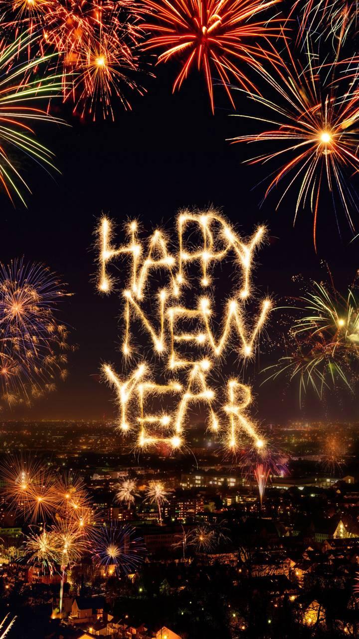 Background Tahun Baru 2020 : background, tahun, Happy, Wallpapers, Wallpaper