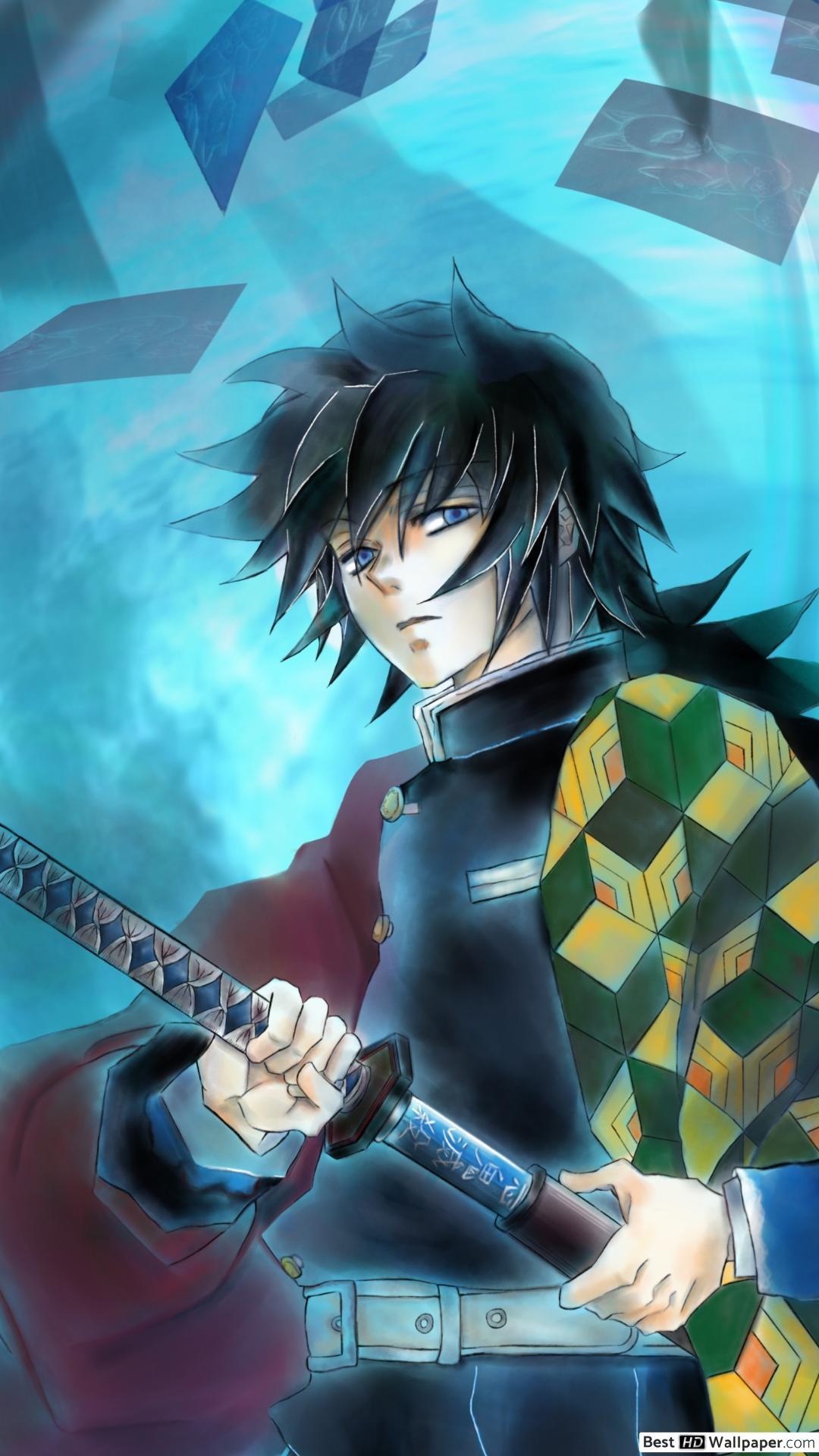646 demon slayer kimetsu no yaiba hd wallpapers background. Demon Slayer Giyu Wallpapers - Wallpaper Cave