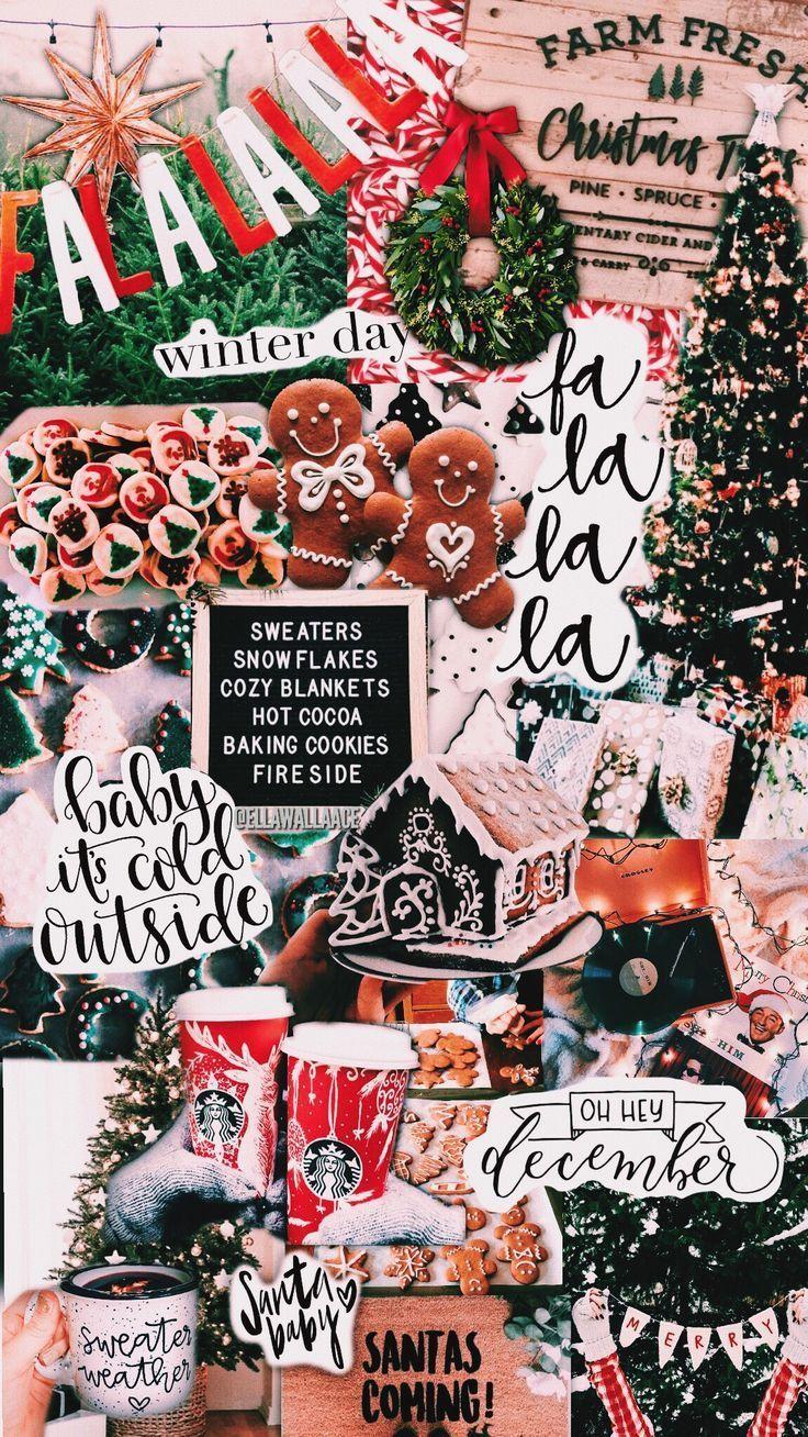 Christmas Wallpaper Aesthetic Ipad : christmas, wallpaper, aesthetic, Aesthetic, Christmas, Wallpapers, Wallpaper