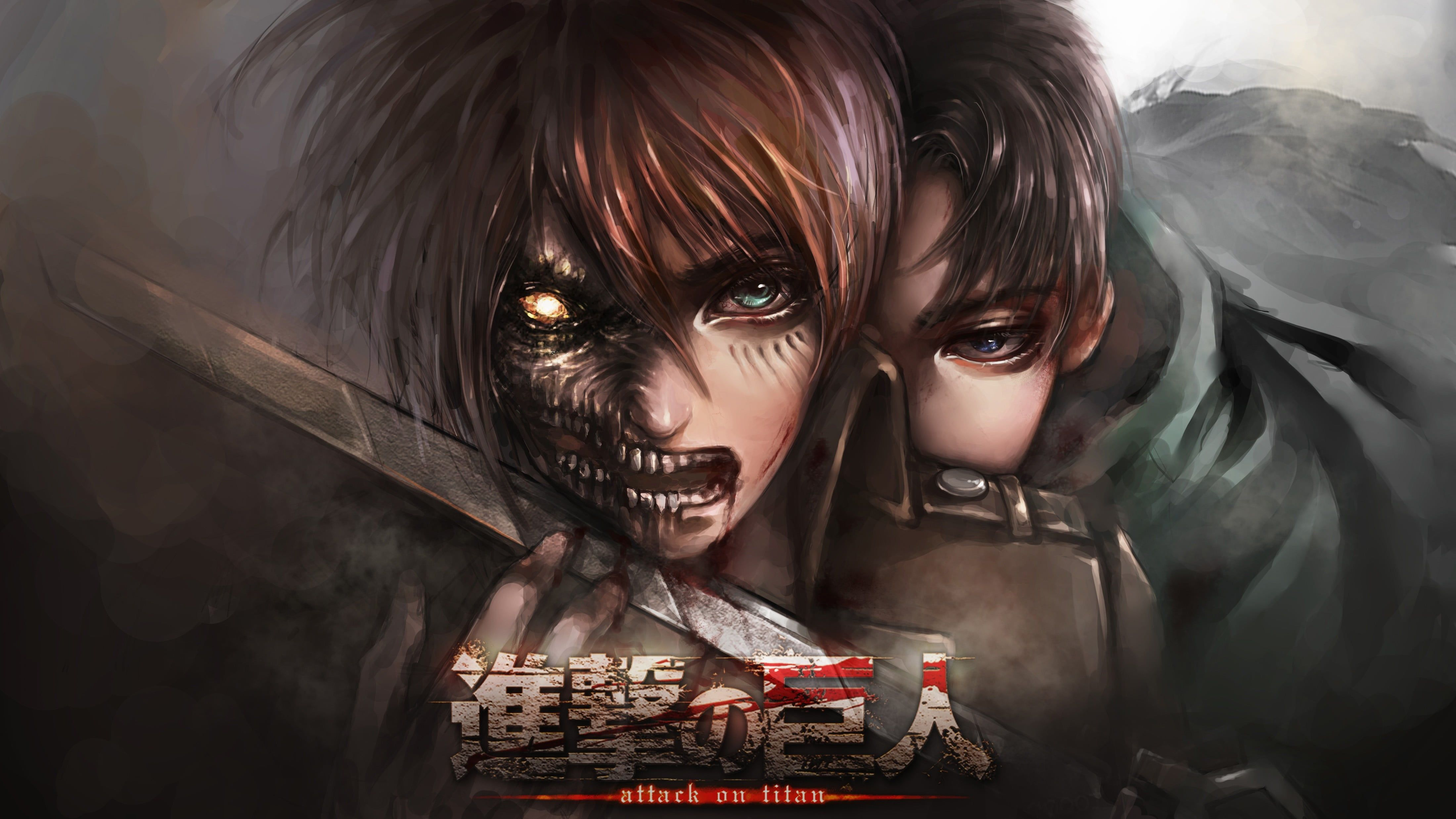 Advertisement platforms categories 1.0 user rating4 1/4 attack on titan 2 is an rpg available on windows that further unfolds the story from the original. Attack On Titan Season 4 Desktop Wallpapers - Wallpaper Cave