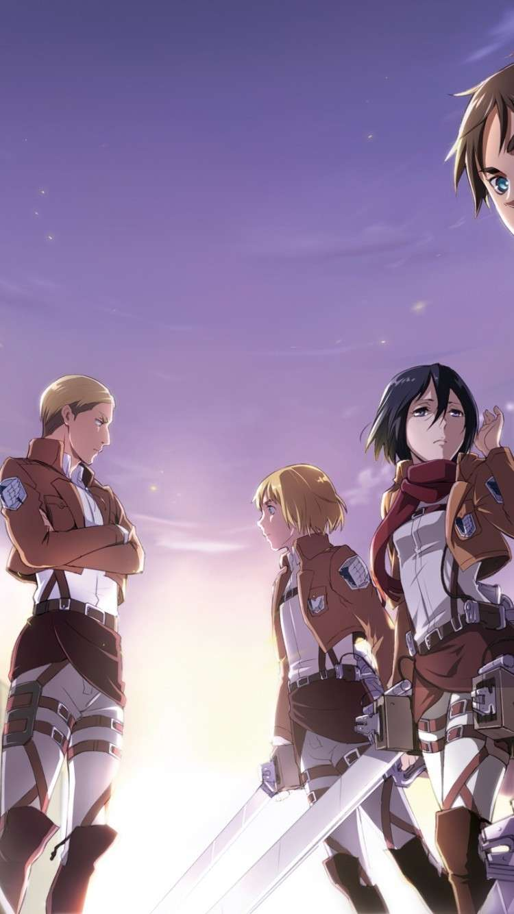 Attack On Titan 4 Wallpapers Wallpaper Cave