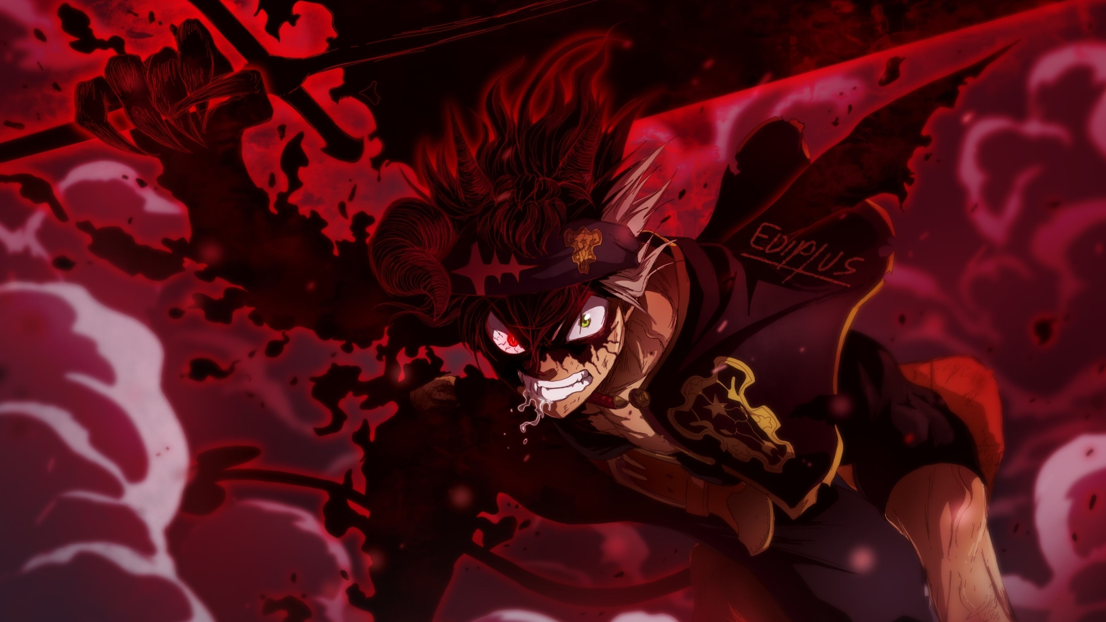 Anime black clover yami sukehiro book hd wallpaper | background image. Black Clover Live Wallpapers - Wallpaper Cave