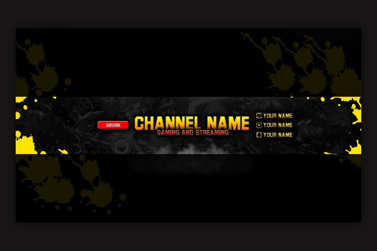 Open your channel on youtube. Youtube Banner Pubg Wallpapers Wallpaper Cave