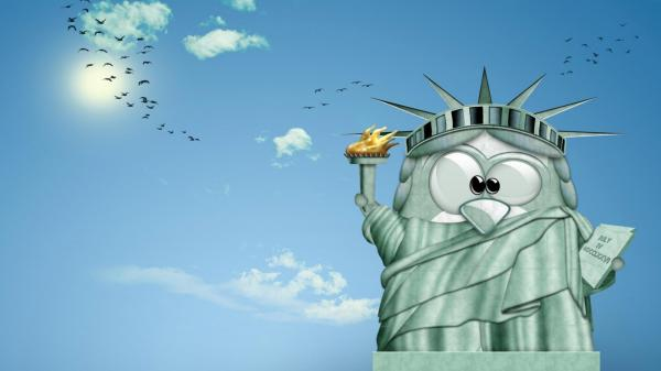 Cute Funny Cartoon Desktop Wallpaper